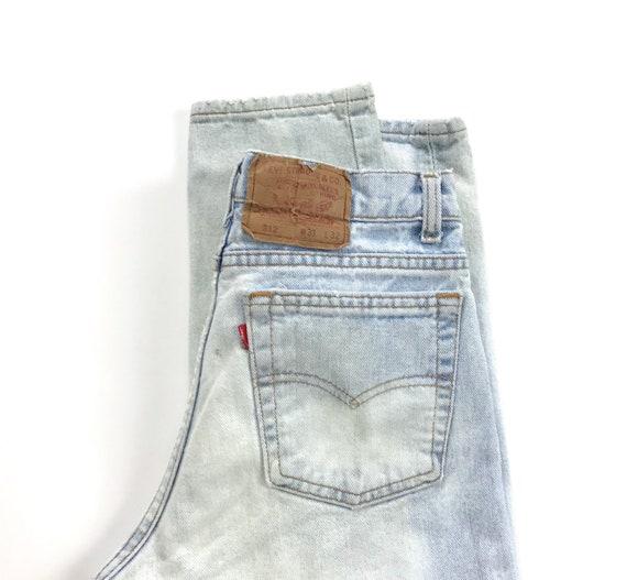 Levi's 512 Vintage Jeans / Size 27 28 - image 7