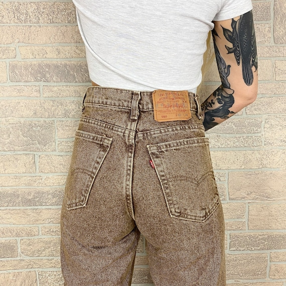 Levi's 550 Brown Jeans / Size 30 31