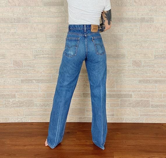 Levi's 505 Orange Tab Jeans / Size 30