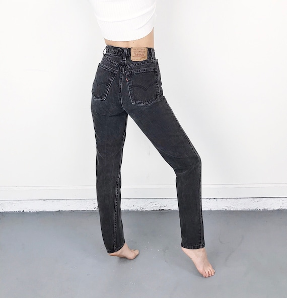 Levi's 512 Faded Black Jeans / Size 26