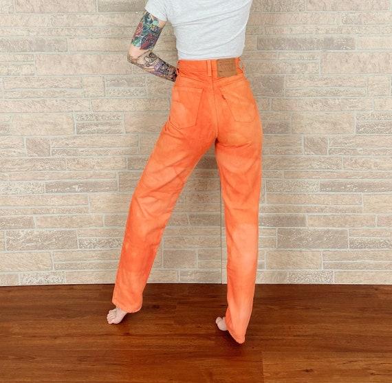 Levi's 512 Salmon Overdye Jeans / Size 25 26
