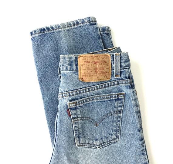 Levi's 512 Vintage Jeans / Size 28 - image 8