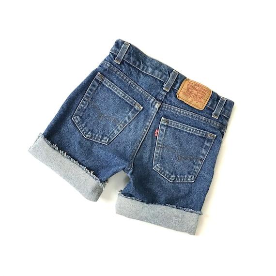 70's Levi's Cut Off Shorts / Size 21