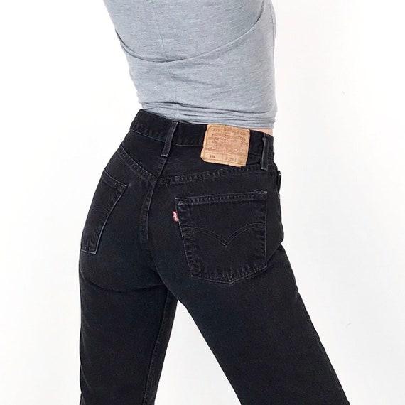 Levi's 501 Black Jeans / Size 26