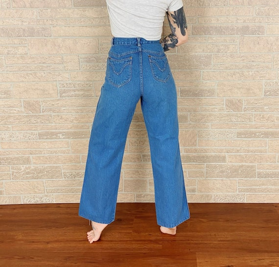 High Waisted 70's Jeans / Size 27