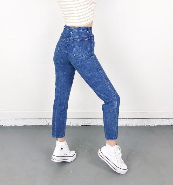 XXS Vintage Printed Jeans / Size 22 - image 2