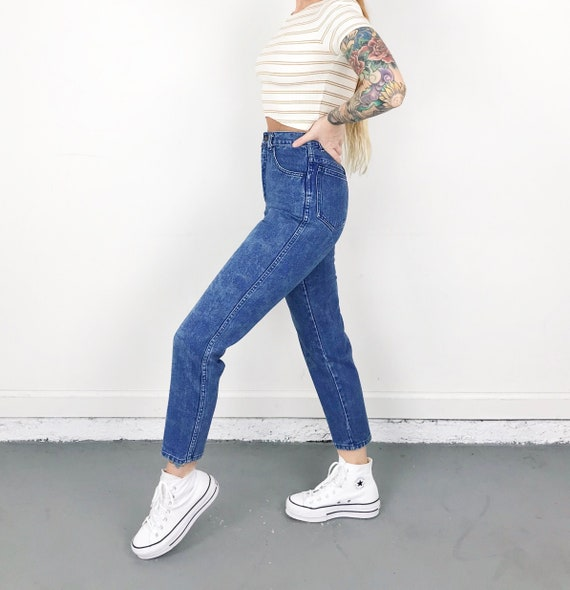XXS Vintage Printed Jeans / Size 22 - image 1