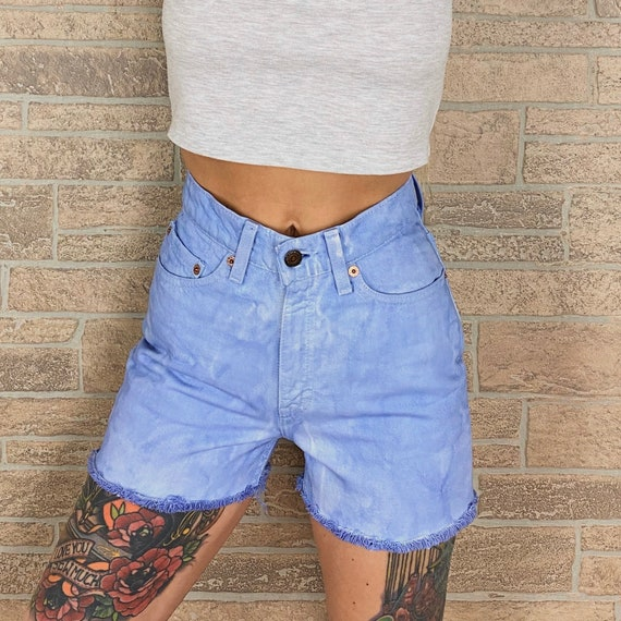 Levi's 512 Periwinkle Shorts / Size 23