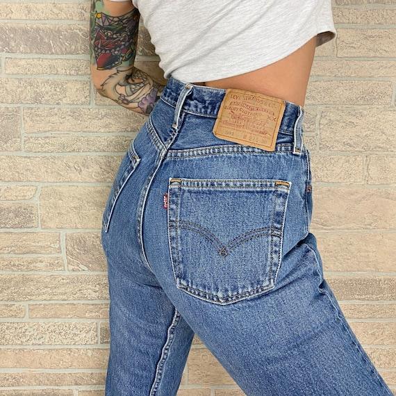 Levi's 501 Vintage Jeans / Size 24 25