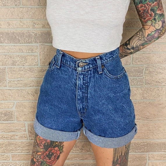 Faded Glory High Waisted Shorts / Size 26 27