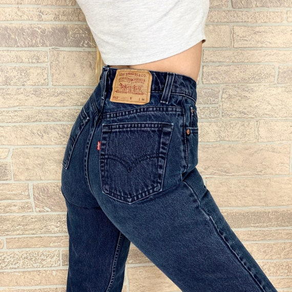Levi's 512 Vintage Jeans / Size 25