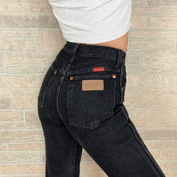 Wrangler Vintage Black Jeans / Size 24
