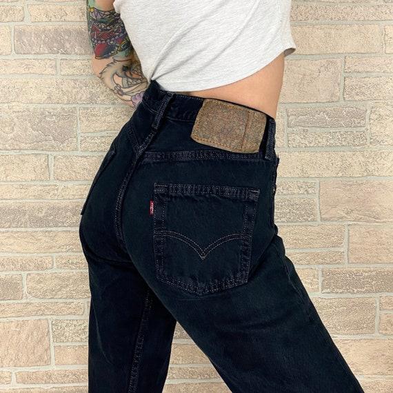 Levi's Black 501 Jeans / Size 27 28