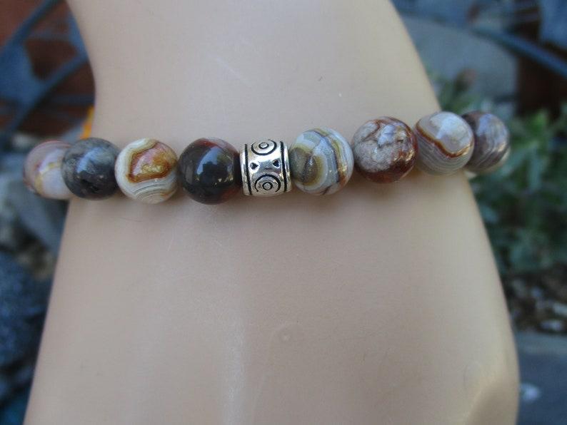 Unique bracelet Unisex bracelet Mens bracelet Stretch bracelet Unique gifts Beaded bracelet Handmade bracelet Beaded jewelry