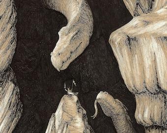 Dragon Cave: Print