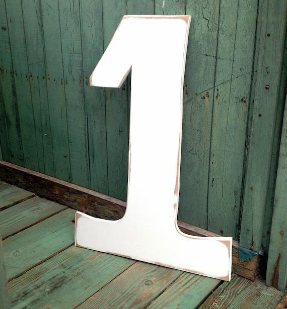 Large Number Number 1 Large Wood Birthday Number Number Etsy