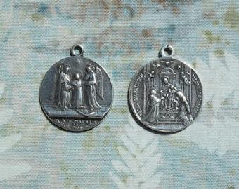 St. Thomas Aquinas Medal Catholic Rosary Saint Sterling VP1293