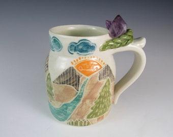pottery mug ceramic mug crystal mug coffee mug pottery handmade mug handmade pottery mug ceramic mugs
