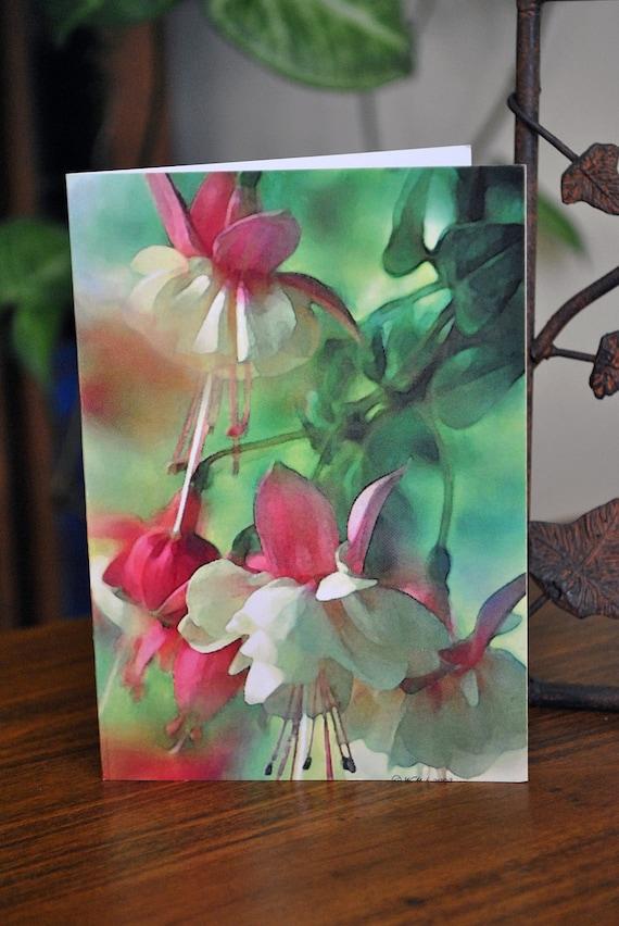 spring flowers flower greeting card floral greeting card