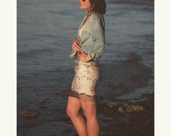 Beach Photo Skirt - Photo Skirt - North Shore, Oahu, Hawaii