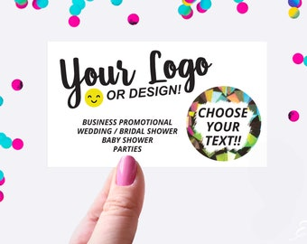 Custom Scratch Off Cards Your Logo or Design - Business Card - Promotional Scratch off