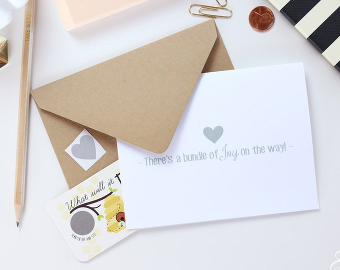 2 Baby Note Card Set - Postcard