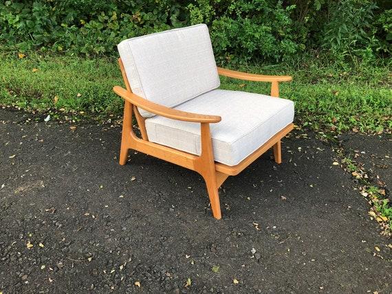 Strange Cherry Accent Chair Mid Century Modern Furniture Lounge Chair Danish Modern Easy Chair Retro Living Room Home Decor Cjindustries Chair Design For Home Cjindustriesco