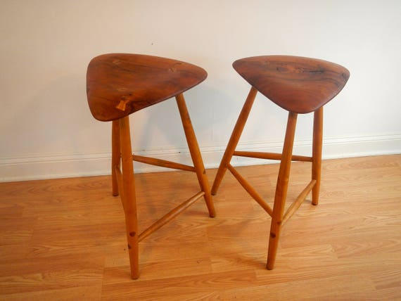 Strange Mid Century Modern Wood Counter Stools Danish Modern Counter Stool Bar Stool Squirreltailoven Fun Painted Chair Ideas Images Squirreltailovenorg