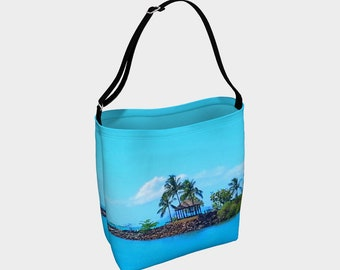 Blue Skies Calling - Day Tote