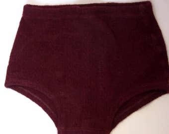 47d174dd94 Men's Wool Swim Trunks Vintage 1930's, U. S. Patent Lasteso Miracle Yarn,  1930's Men's Fashion, Museum, Theatre Costume, Prop