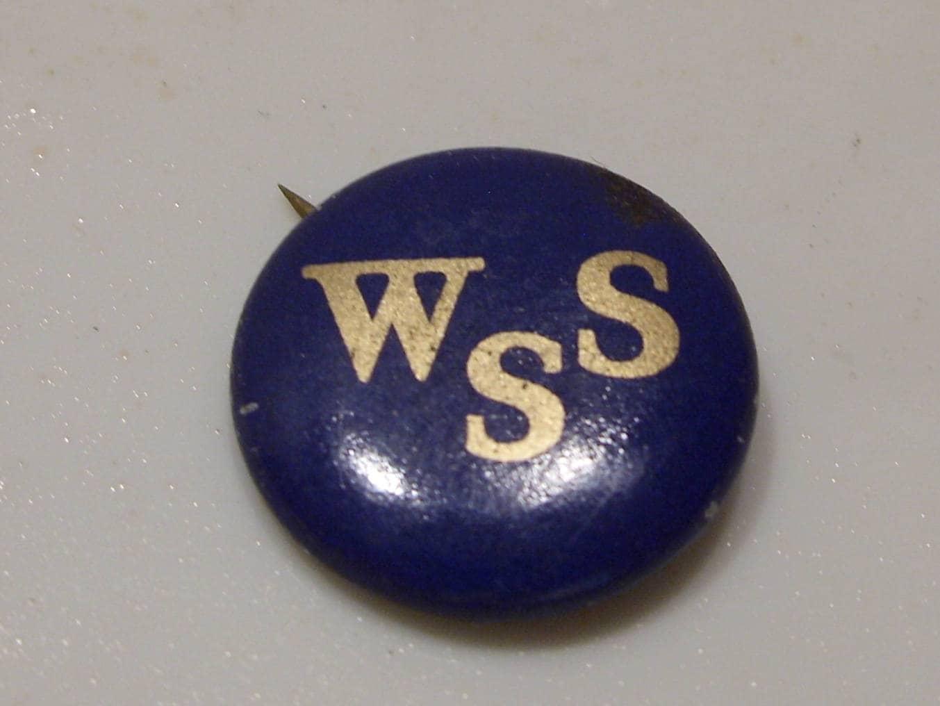 info for e7c7f db47a WSS WWI Blue and Gold War Savings Service Pin Free Shipping   Etsy