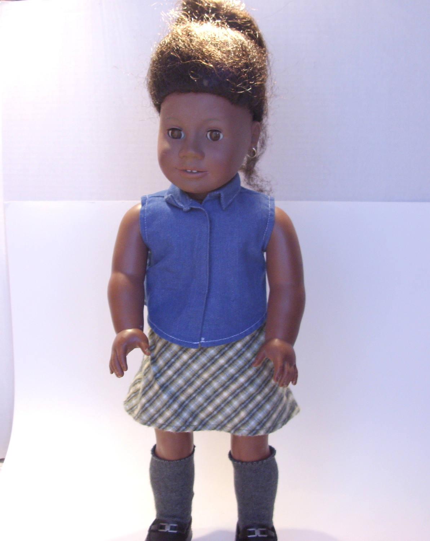 New American Girl Addy/'s Black Sock