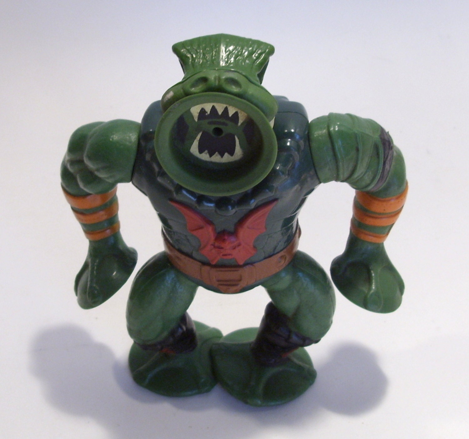 He-Man Leech Action Figure Masters of the Universe Made by Mattel in Mexico  1984, Collectible Vintage He Man Toy, Great Gift