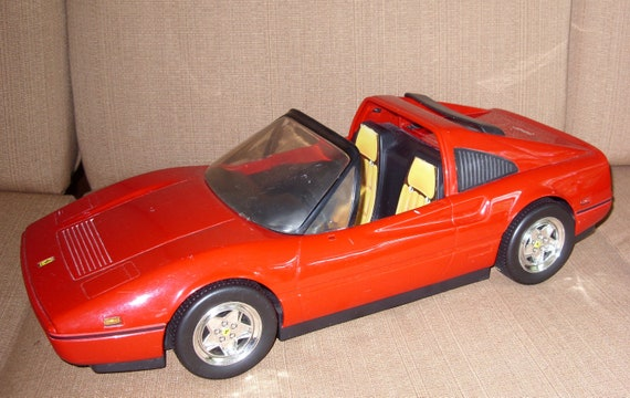 Barbie Rot Ferrari Cabrio Auto Von Mattel Vintage 1986 Etsy