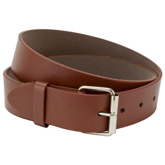 Ceinture de cuir marron ceinture pour hommes femmes taille   Etsy a257488185d