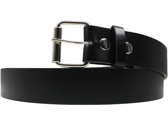 Ceinture de cuir noir ceinture pour homme femmes ceinture   Etsy b492c43a079