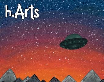 UFO PRINT