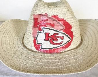 Houston Texans Straw Hat Houston Texans Cowboy Hat Texans  afadb4726ef