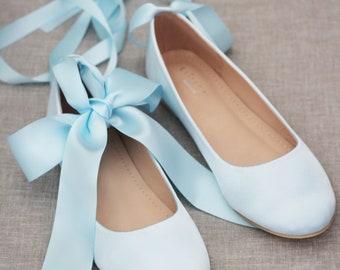 Light blue shoes | Etsy