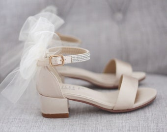 58b1abcb6f4 Girls Shoes Flower Girls Shoes Women Wedding Shoes by kaileep