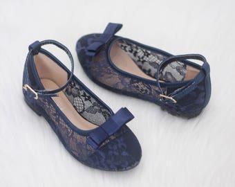 Navy saddle shoes | Etsy