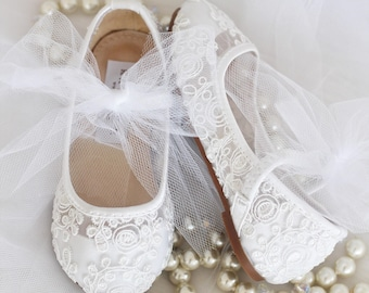 Flower girl shoes | Etsy