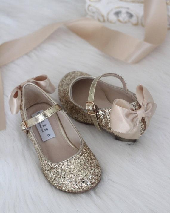 heels with glitter heel