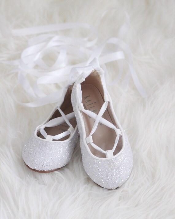 WHITE ROCK GLITTER Infant girl Shoe and