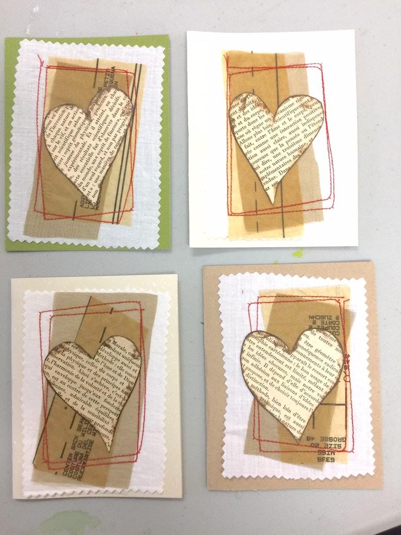 Bien Choisir Son Four homemade heart cards