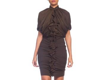 a1a61f9c Draped-silk Givenchy Dress With Stretch Size: S