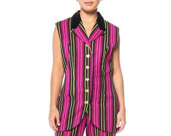 Gianni Versace Vest And Pant Ensemble