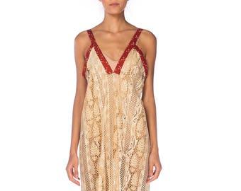 Morphew Lab Mixed Lace Dress Size: S