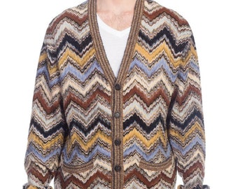 df01ce310176 Mens-missoni Soft Knit Cardigan Sweater Size  M
