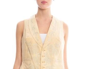 Victorian Hand Embroidered Vest